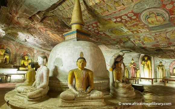 Dambulla Rock Temple Sri Lanka by Ariadne Van Zandbergen, Africa Image Library