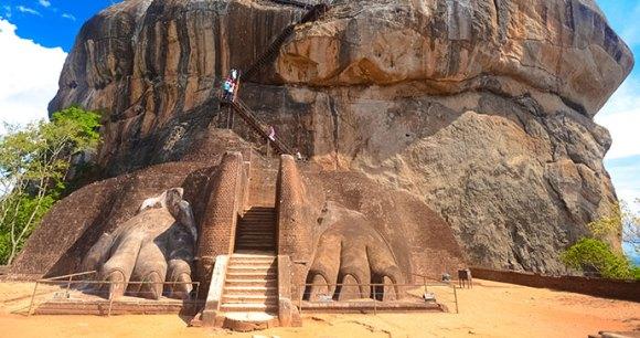 Sigiriya Lion Rock Sri Lanka by jonas, Shutterstock