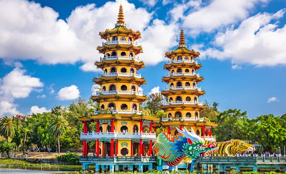 Lotus Pond Kaohsiung Taiwan by Sean Pavone Shutterstock
