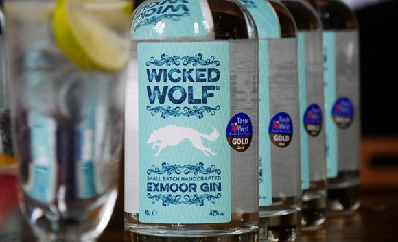 Wicked Wolf Gin, Exmoor, UK by Julia Amies-Green