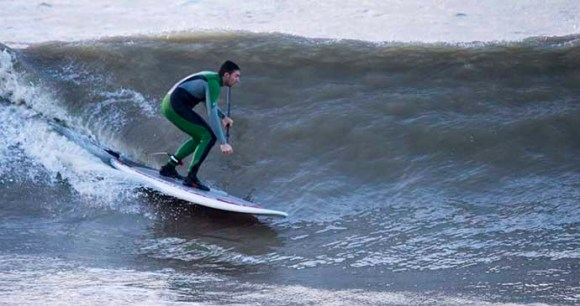 Surfing, Brighton, Hove, Sussex, England by Lagoon Watersports