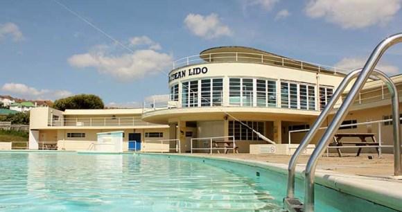 Saltdean Lido, Sussex, England by Saltdean Lido