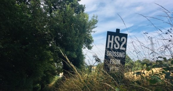 HS2 The Country of Larks by Gail Simmons