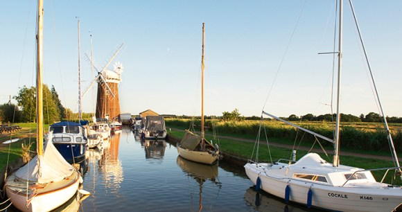 Horsey Mill, the Broads, Norfolk by Broads Authority