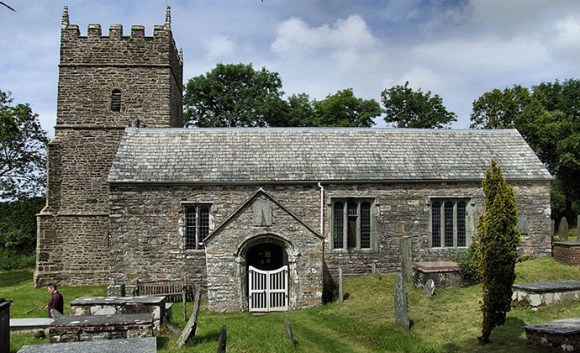 St Petrock's church, Parracombe, North Devon, UK by Robert Cutts, Wikimedia Commons