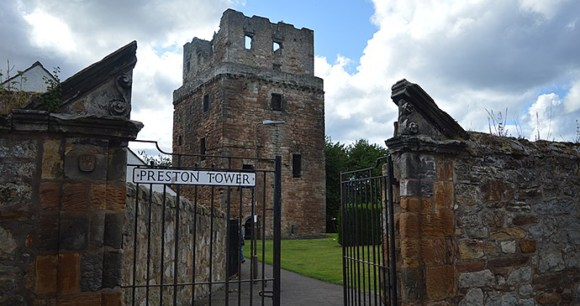 Preston Tower, Northumberland, UK by DougRM, Wikimedia Commons