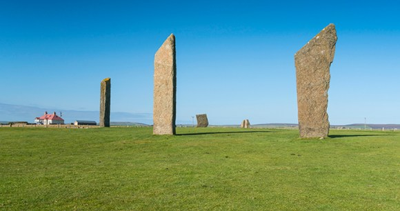 Standing Stones of Stenness Orkney by Kenny Lam, VisitScotland