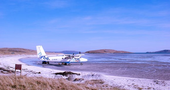 Barra airport, Outer Hebrides © McKinlay Kidd