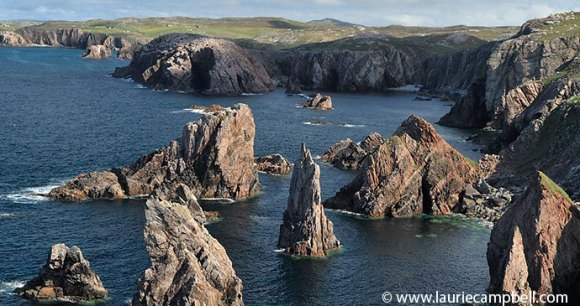 Mangersta Harris Outer Hebrides Scotland Britain by Laurie Campbell