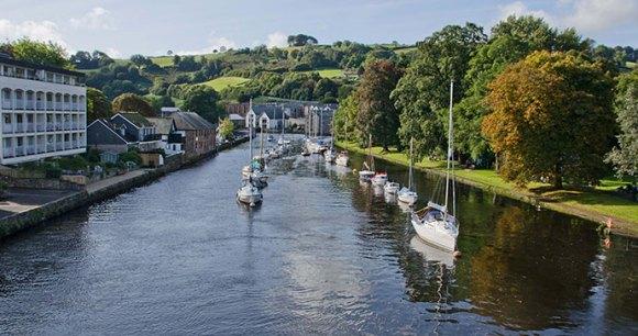 River Dart, Totnes, South Devon by Unique Devon Tours best wild swimming spots