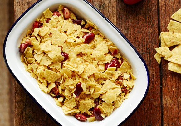 Quorn chilli recipe The Wilderness Cookbook by Liz Seabrook
