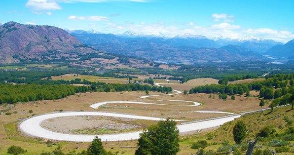 Cerro Castillo Carretera Austral Chile by Hugh Sinclair