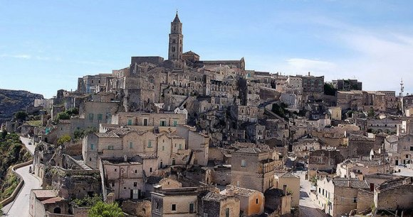 Matera, Italy by Giuseppe Rinaldi, Wikimedia Commons