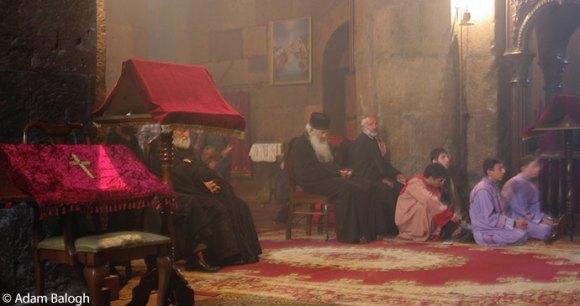 Geghard Monastery Armenia by Adam Balogh