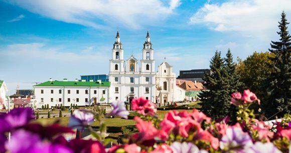 Cathedral of Holy Spirit Minsk by Maryia Bahutskaya Dreamstine