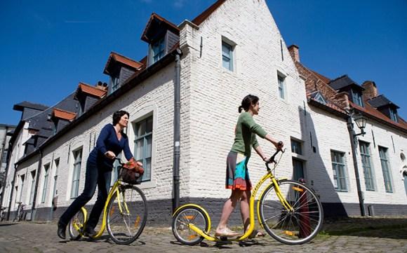 Small beguinage Leuven Flanders Belgium by Toerisme Leuven