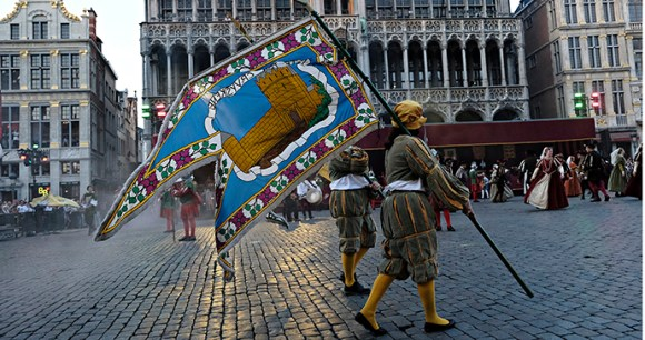 Ommegang Brussels Flanders Belgium by Alexandros_Michailidis, Shutterstock