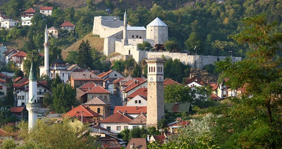 Travnik, Bosnia by Julian Nitzsche, Wikimedia Commons