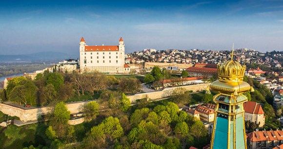 Bratislava Castle Slovakia by DUOMEDIA