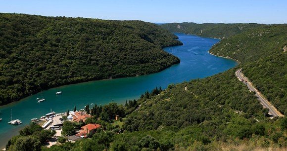 Limski kanal, Istria, Croatia by Istra Photonet