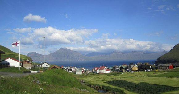 Gjogv Faroe Islands Europe by James Proctor