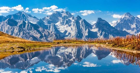 Koruldi Lake, Georgia by saiko3p, Shutterstock