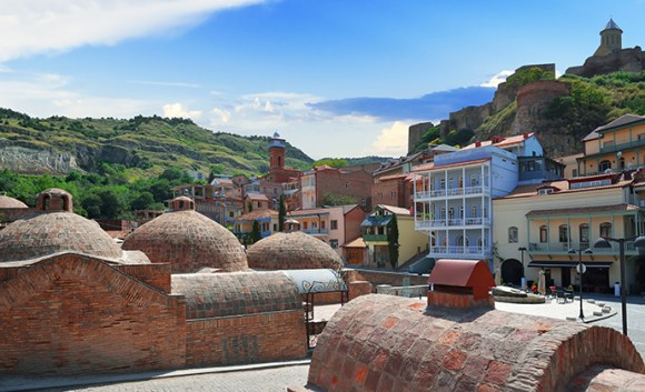 Sulfuric baths, Tbilisi, Georgia by Artur Synenko, Shutterstock