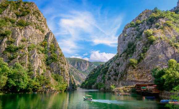 Matka Canyon North Macedonia by mbrand85 Shutterstock