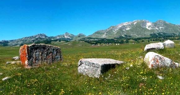 Stecci Riblje Jezero by Montenegro Ministry of Culture Sport and Media Republic of Montenegro Wikimedia Commons