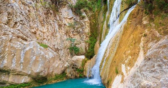 Polilimnio The Peloponnese Greece by Nick Pavlakis, Shutterstock