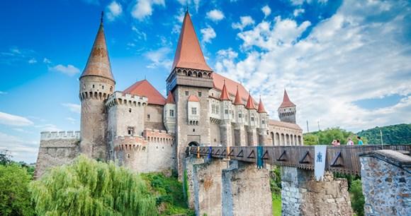 Corvin Castle, Transylvania, Romania by omihay, Shutterstock