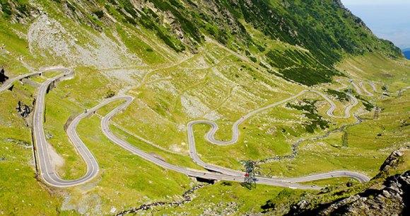 Transfagarasan Highway Transylvania Romania by Rechitan Sorin, Shutterstock