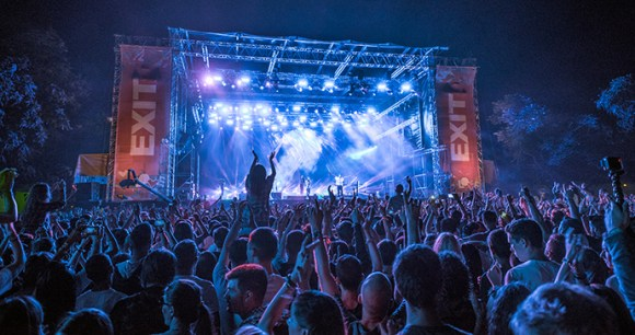 Exit Festival, Petrovaradin, Novi Sad, Serbia by Bernard Bodo, EXIT photo team, Wikimedia Commons