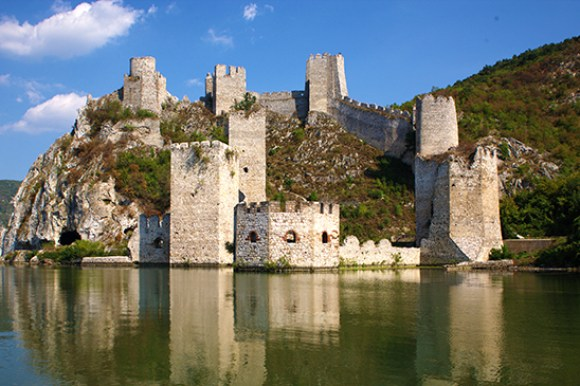 Golubac Fortress, Serbia by B Jovanovic, Archive National Tourism Organisation Serbia