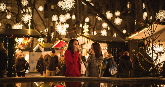 Christmas market in Basel, Switzerland by Andre Meier Switzerland Tourism