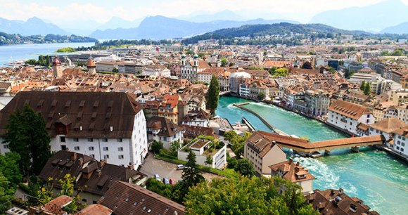 Luzern Switzerland by Bertl123 Shutterstock