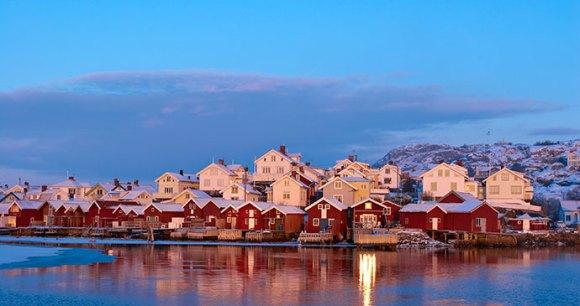 Bohuslan in winter West Sweden Europe by Jonas Inman West Sweden Tourist Board
