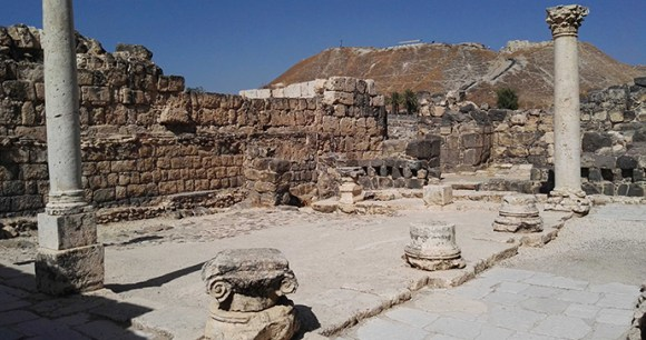 Beit Shean National Park Israel by Bukvoed, Wikimedia Commons