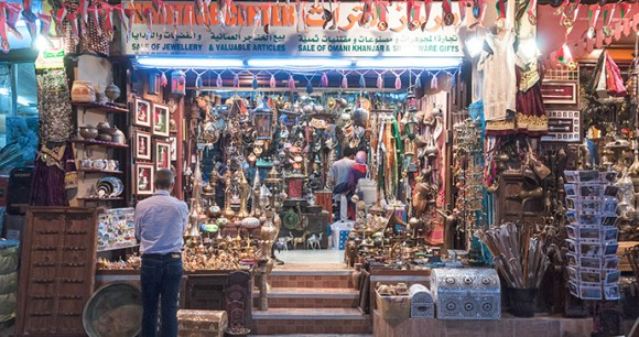 Souvenirs Mutrah Suq Oman by Imarandr, Dreamstime best markets in the world
