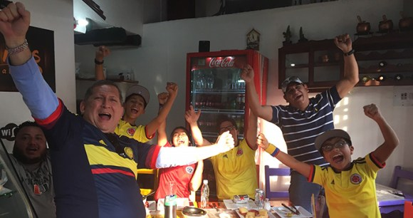 Victory for Colombia, Colombia © Dom Tulett