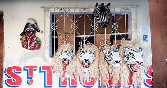 Carnival Masks by Experience Haiti