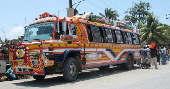 Taptap bus, Port Salut, Haiti by LeRoc, Wikipedia