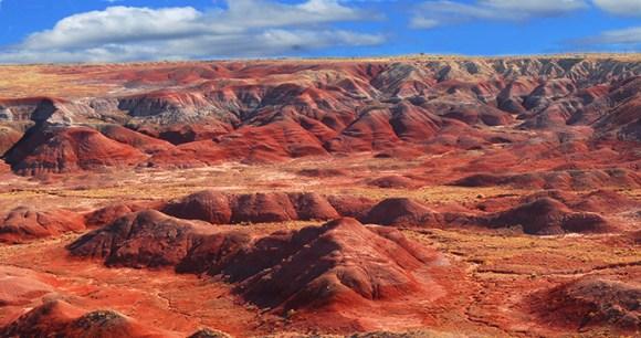 Painted Desert Arizona USA by David P. Smith, Shutterstock