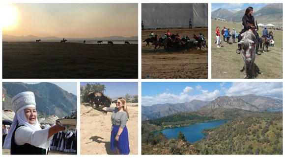 World Nomad Games Kyrgyzstan by Carys Homer