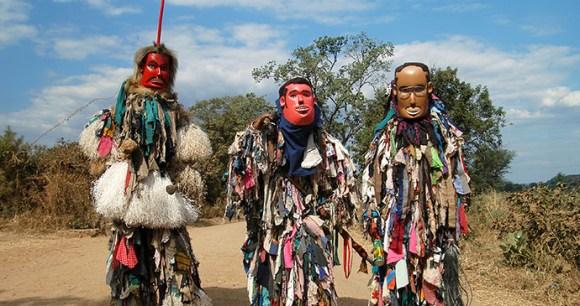 Gule Wamkul Masks Chamare Museum Malawi by Dana Allen Central African Wilderness Safaris