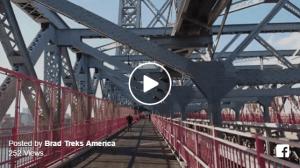 Walkng Brooklyn and New York City