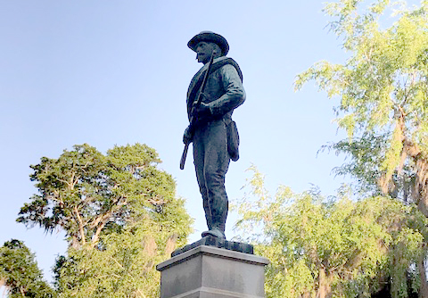 statue in Marion