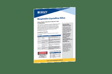 silica signage compliance osha silica