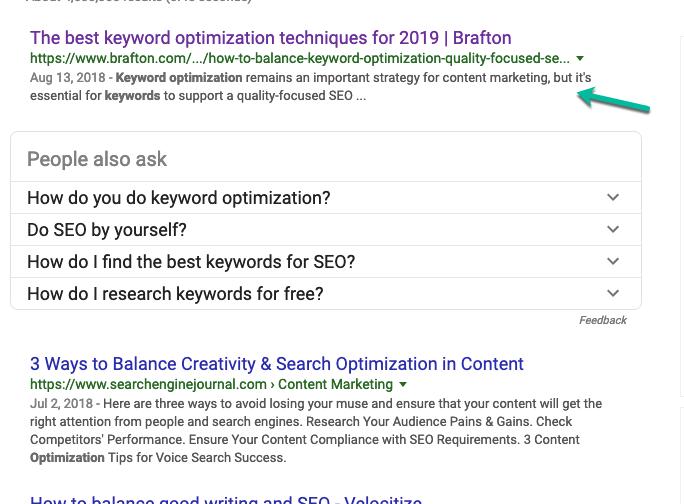 keyword optimization techniques for 2019