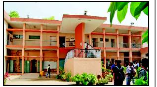 Acharya Narendra Dev College front view picture